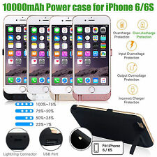 New 10000mAh iPhone 6 Power Case External Battery Charger Power Cover Pack UK