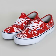 New Vans Skateboarding Authentic Pro Shoes 50th Anniversary '66 Duke Red White