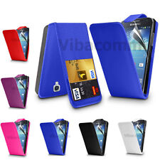 SAMSUNG GALAXY FAME S6810 FLIP TOP LEATHER CASE COVER + FREE SCREEN GUARD