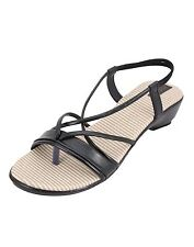 Azores Black  Wedges
