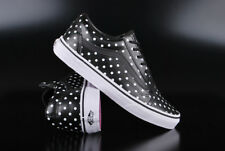 VANS OLD SKOOL LEATHER POLKA DOTS BLACK SNEAKER SCHUHE