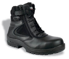 Cofra Police Safety Boots With Composite Toe Caps & Midsole zipped