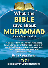 Dawah Publication: What the Bible says about Muhammad (P) (Bulk Offers)