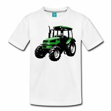 Traktor Landmaschine Bauernhof Trecker Teenager T-Shirt von Spreadshirt®,