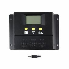 PWM 60A/80A 12V/24V LCD Solar Controller Panel Battery Charge Controller Solar H
