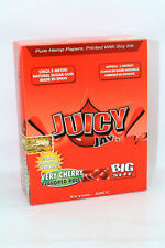 VERY CHERRY - JUICY JAYS FLAVORED ROLLS CIGARETTE ROLLING PAPERS 5 METER LONG