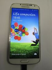 Samsung Galaxy S4 GT-I9505 - 16GB - White (Unknown) Smartphone - FAULTY  (9405)