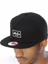 Cappellino Snapback New Era Patched Tone Nero-Bianco