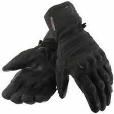 NEW GENUINE DAINESE SCOUT GORETEX  MOTORCYCLE GLOVES IN BLACK or  BLACK / YELLOW