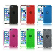 TPU Gel Silicone Case Cover for Apple iPod Touch 6 6G 6th Gen Latest Generation