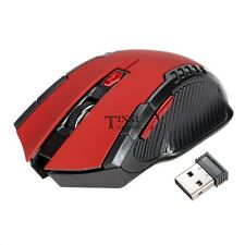 HOT 2.4GHz Mini Portatile Wireless USB Ottico Mouse Con Filo Per PC Laptop TXSU