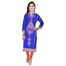 Indian Ethnic Pure Rayon Designer Printed Casual Wear Kurti Kurta VIKU_5003