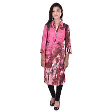 Indian Ethnic Pure Rayon Designer Printed Casual Wear Kurti Kurta VIKU_5004