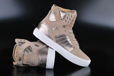 SUPRA SKYTOP TAUPE WHITE HIGH TOP SNEAKER SCHUHE