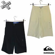 QUIKSILVER 'ALL NIGHT' BOYS SHORTS LONG CARGO COMBAT AGE 12 14 16 BNWT RRP £37