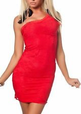 SeXy Miss 1 Shoulder Mini Kleid Party Dress Spitze S 34 M 36 L 38 rot Top Style