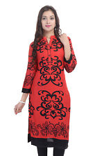 Indian Ethnic Pure rayon Designer Printed Casual Wear Kurti Kurta VI_2498