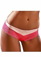 VIVANCE Collection Panty Slip Microtouch Spitze Nude - Pink