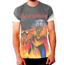 IRON MAIDEN NUMBER OF THE BEAST Sublimation T-Shirt Official Merchandise