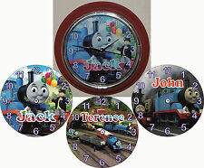 Personalised THOMAS THE TANK ENGINE  Wall Clock 3 Designs To Choose From