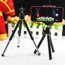 Mini 360° Rotatable Folding Stand Tripod Mount + Phone Holder Bracket Universal