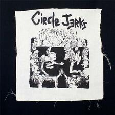 CIRCLE JERKS DIY customized PUNK ROCK  jacket festival metal EXTRA LARGE PATCH