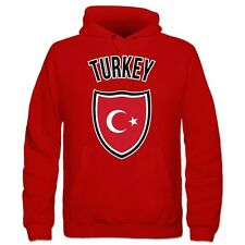 Turkey Flag Shield Kinder Kapuzenpulli