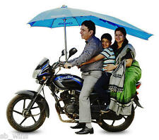 Motor Bike Umbrella Windproof Waterproof UVproof For all 2 Wheeler Foldable