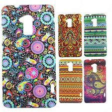 Heartly Aztec Print Tribal Matte Style Thin Hard Back Case Cover HTC One Max T6