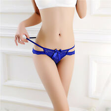 Lovely Women Lace Sexy Lingerie Underwear Knickers Thongs G-string Panties
