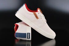 SUPRA STACKS VULC II OFF WHITE NAVY WHITE SCHUHE LOW TOP SNEAKER SKATERSCHUH