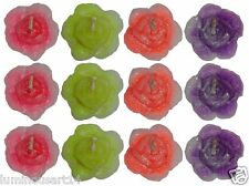Smokeless Scented Rose Flower Floating Candle Diwali Decoration Party Gift
