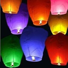 SKY LANTERN PAPER LAMP LIGHT WISH CANDLE PARACHUTE HOT BALLON DIWALI NEW YEAR