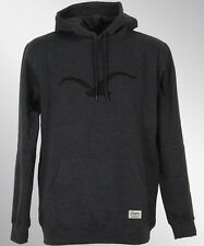 Cleptomanicx MOWE Hooded Pullover Kapuze heather black schwarz