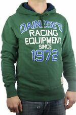 Franklin & Marshall Pullover Uomo Felpa Con Cappuccio Racing Equipment verde