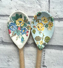 Decoupage Wooden Spoons using Cath Kidston Highgate designs homeware, decor