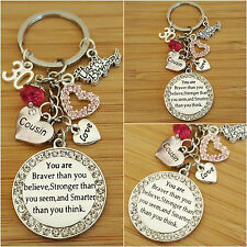 Personalised HAPPY BIRTHDAY Gifts Charm Keyring 12th 16th 18th 21st 30th 50th ..