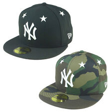 "New ERA Hat BASEBALL NEW NY Hat ""Star Crown"" ORIGINAL Cap 59FIFTY Several 10"
