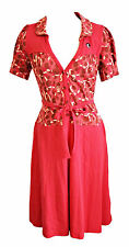 Blutsgeschwister Kleid Highline Dress XS - XL  Rot Pin Up Retro Vintage V109 Top