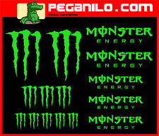 ADHESIVO PEGATINA VINILO STICKER AUFKLEBER DECAL AUTOCOLLANT VINYL KIT MONSTER
