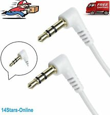 3.5mm Jack Male Cable M-M Lead Stereo Plug to Plug AUX Headphone GOLD 1M - 10m