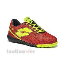 Zapatos Lotto Fútbol sala Zhero Gravity VII 700 TF JR R8277 Junior Red Negro