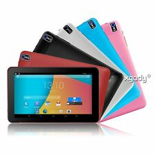 """New 9"""" Inch Android 4.4 Quad-Core 8GB Tablet PC Dual Camera WIFI Bluetooth XGODY"""