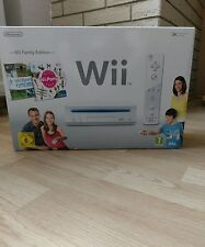 Nintendo Wii Family Edition Pack 512 MB Weiß Spielekonsole (PAL)