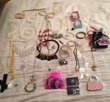 MIXED JOB LOT COSTUME JEWELLERY NECKLACES ETC GOOD 4  XMAS CAR BOOT MARKET STALL