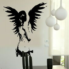 ANGEL large fairy kids wall art stickers graphic stencil kitchen bedroom decal