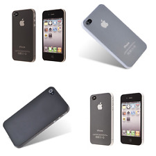 Ultra Thin Apple iPhone 4 4S 0.3mm Hard Protective TPU Cover Case