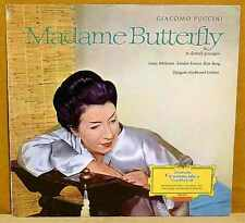 PUCCINI Madame Butterfly LP DGG Red Stereo SLPEM 136 401 Tulips Germany 1964