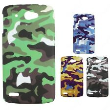 Heartly Army & Strip Style Retro Thin Hard Back Case Cover Lenovo S920 Dual Sim