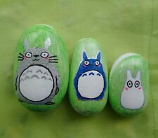 My Neighbour Totoro Hand Painted Pebbles